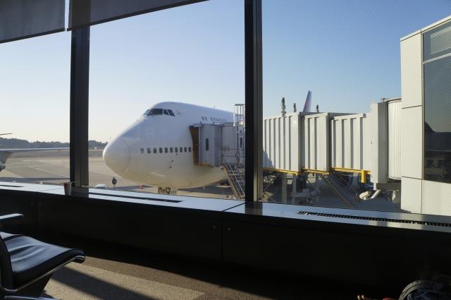 航空機に搭乗するとき