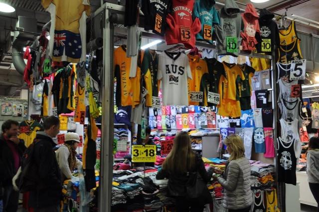 シドニー最安のお土産屋「paddy's market」