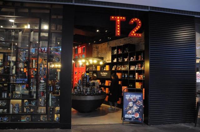 シドニーの有名紅茶「T2」