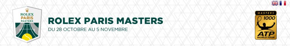Rolex Paris Masters/パリ・マスターズ