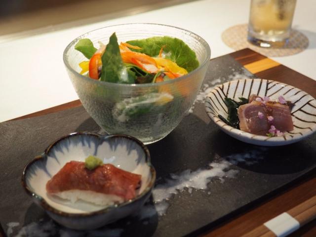 鉄板焼き877前菜