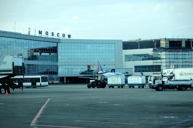 ロシア・モスクワ空港