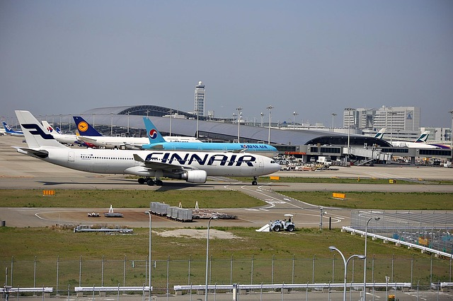 フィンエアーや大韓航空機