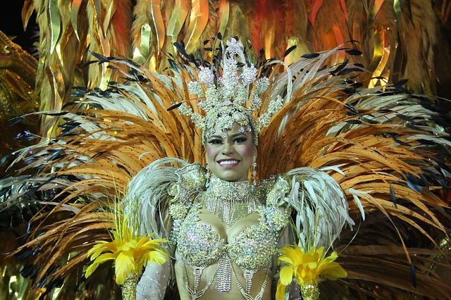 ブラジルリオのカーニバル