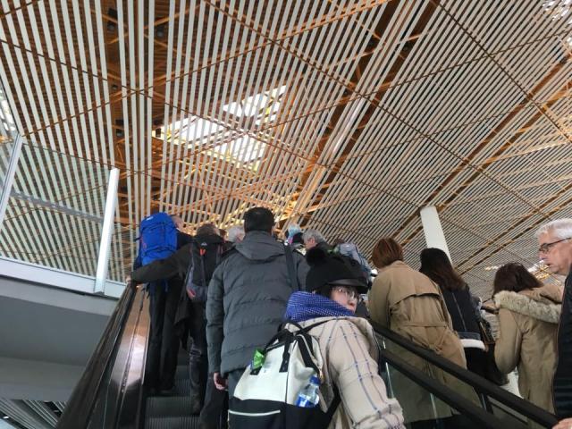 北京空港の乗り継ぎ