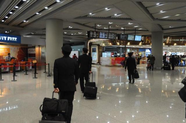 北京国際空港乗り継ぎ