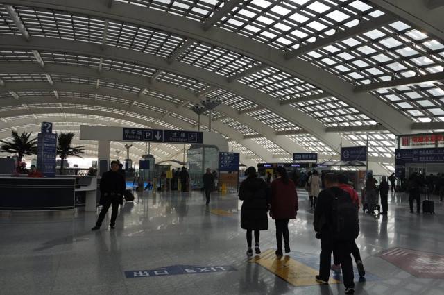 北京空港の地下鉄机場線