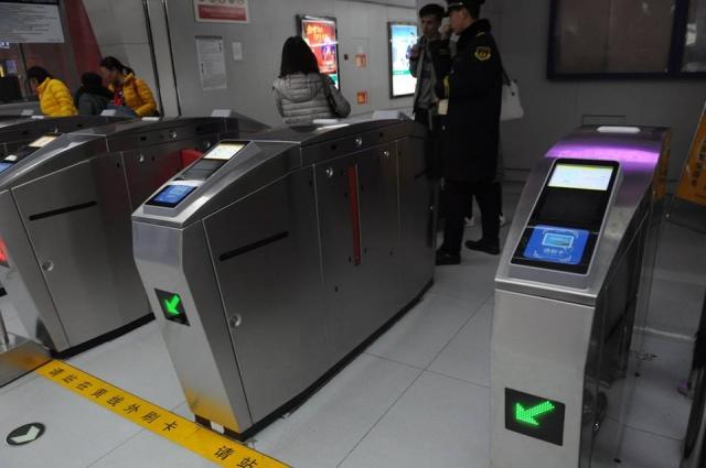 地下鉄机場線の改札