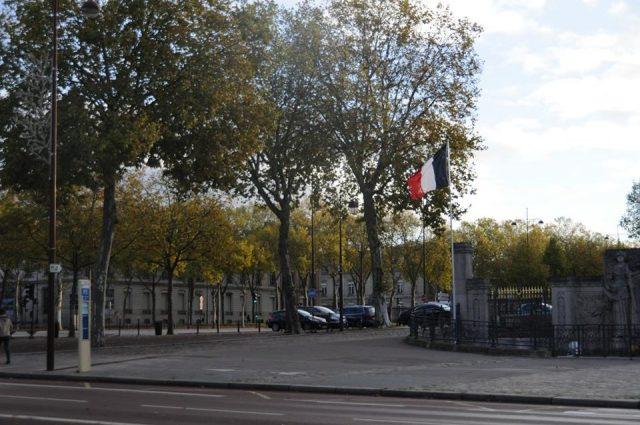 ヴェルサイユの街並み