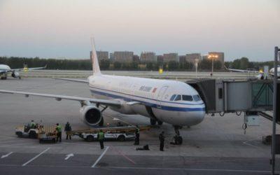 CA183便北京ー羽田行き