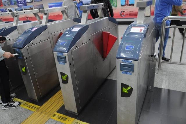 北京で電車の改札乗り方