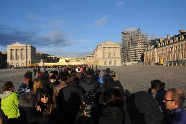 第一日曜無料日のヴェルサイユ宮殿
