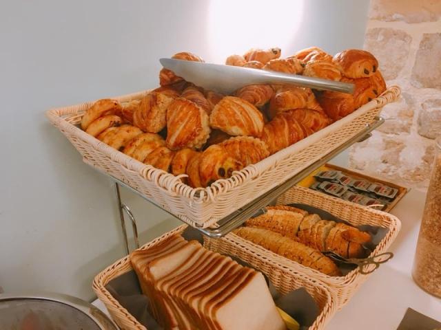 パリのおすすめホテルパルム/PALMの朝食