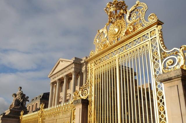 ヴェルサイユ宮殿黄金の門