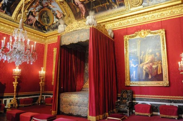 ヴェルサイユ宮殿の寝室