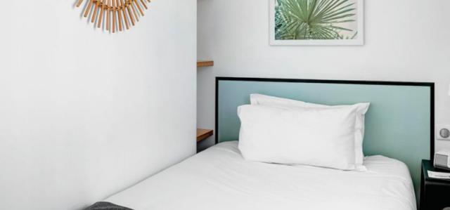 hotel palmのシングルルーム