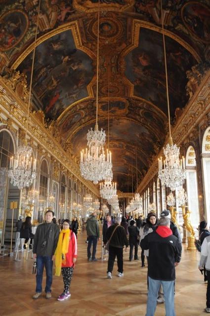 ヴェルサイユ宮殿の鏡の回廊