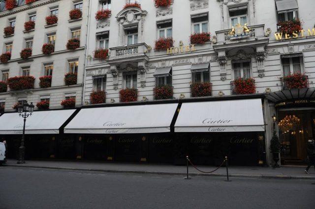 カルティエパリ本店