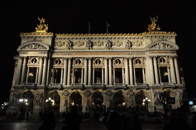 夜のオペラ座