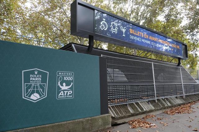 ATPテニスパリマスターズ観戦