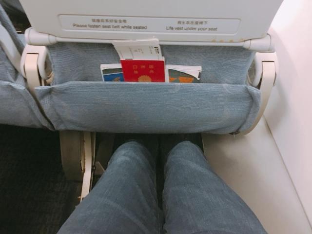 中国国際航空のシート