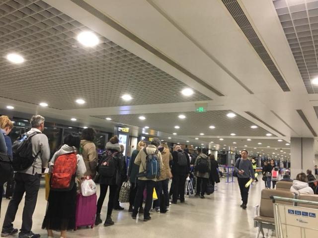 中国国際航空搭乗口