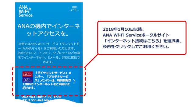 ANAWi-Fi無料