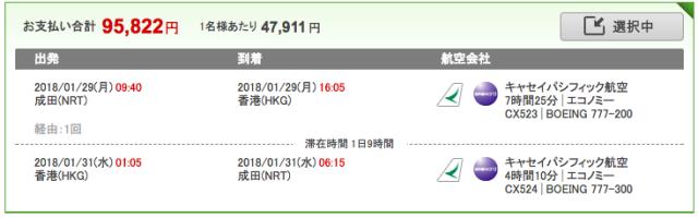 楽天トラベル香港ツアー