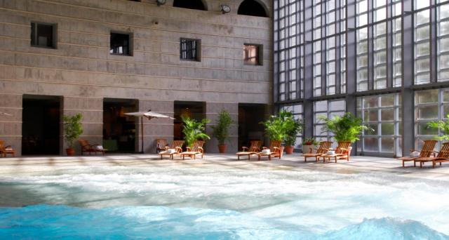星野リゾート八ヶ岳のプール