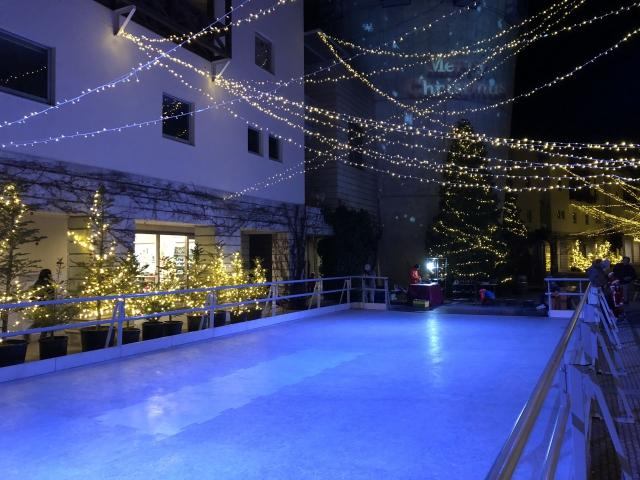 星野リゾート八ヶ岳のスケートリンク