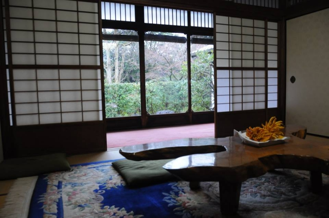 アメックス京都特別ラウンジ和室