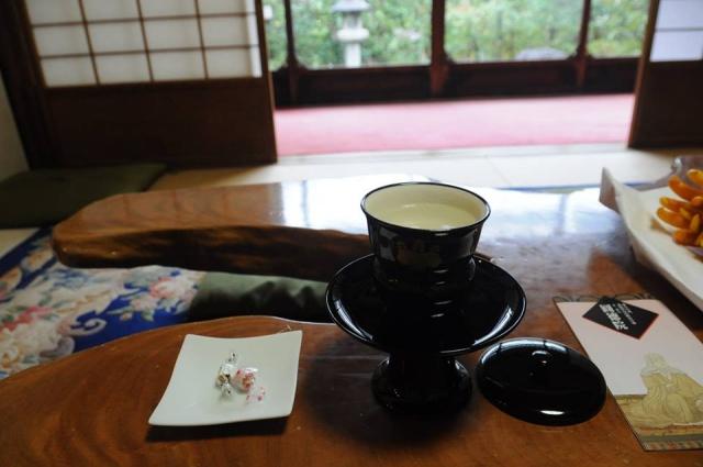 アメックス京都特別ラウンジうめこぶ茶