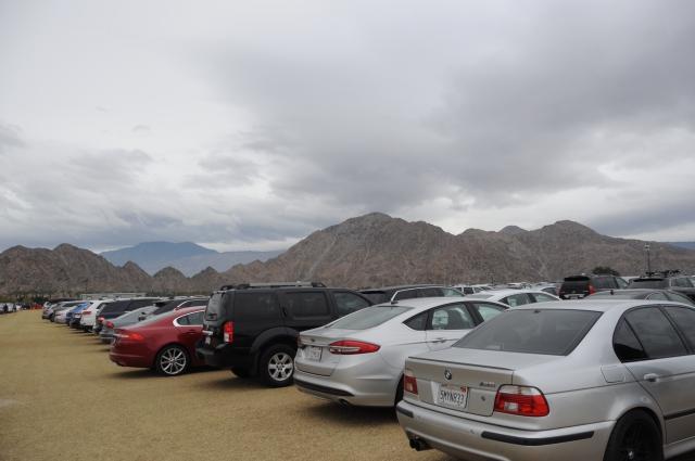 BNPパリバオープン駐車場