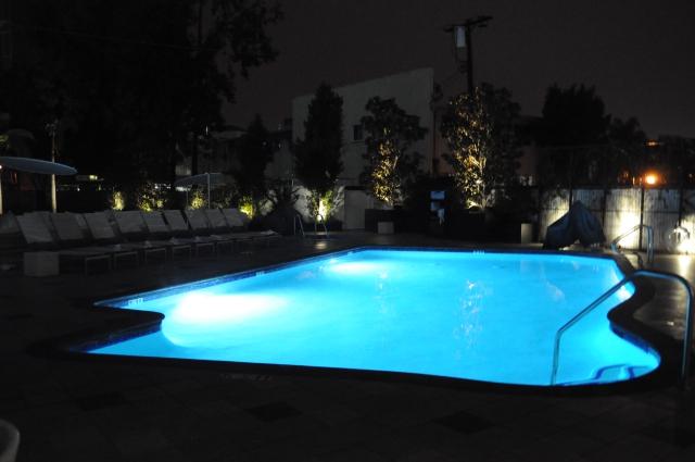 マリオットビバリーヒルズのプール