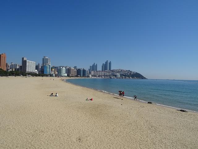 釜山のビーチ