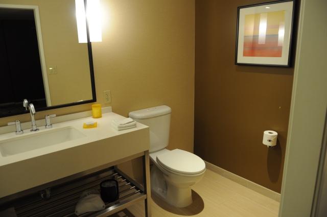 JWマリオットロサンゼルスのバスルーム