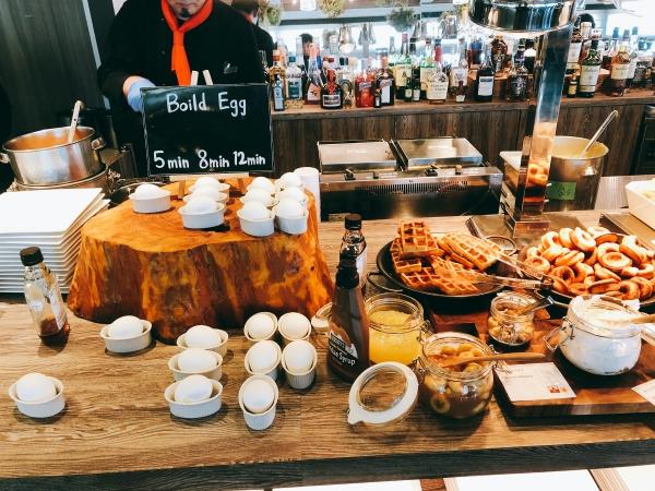 マリオット修善寺の朝食