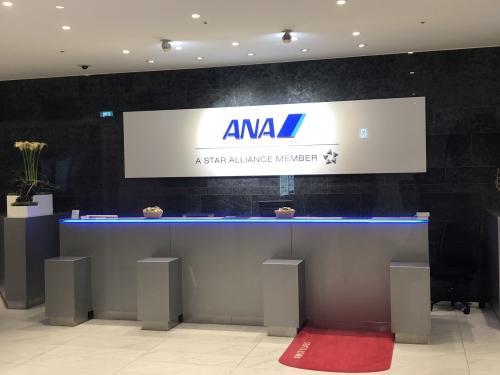 ANA国際線ラウンジ