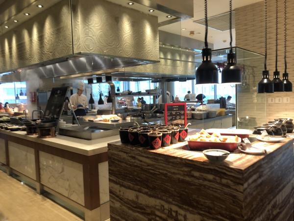 上海マリオット朝食