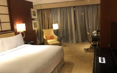 上海マリオットのルーム
