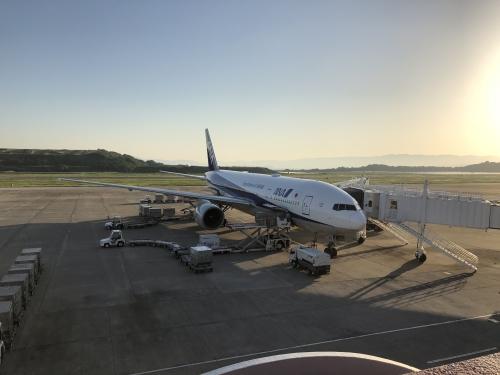 長崎空港のANA