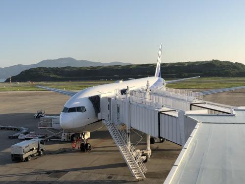 長崎空港の展望デッキ