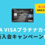 ANAプラチナカード入会キャンペーン