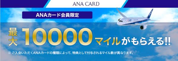ANA VISAキャンペーン