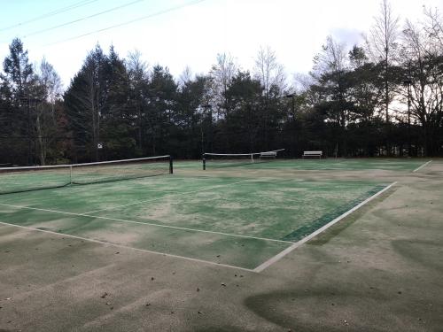 マリオット山中湖のテニスコート