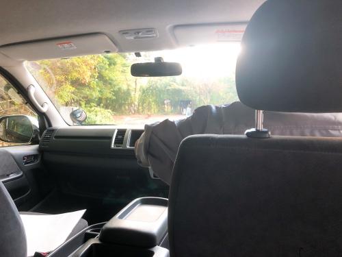 マリオット山中湖の送迎バス