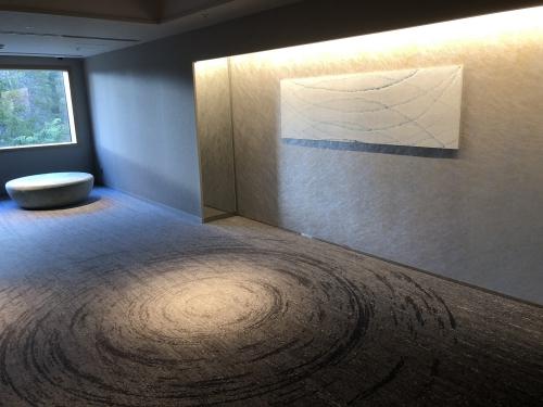 マリオット山中湖のエレベーターホール