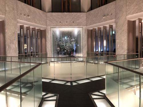 ザプリンスパークタワー東京のフロント