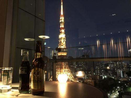 ザプリンスパークタワー東京のラウンジ