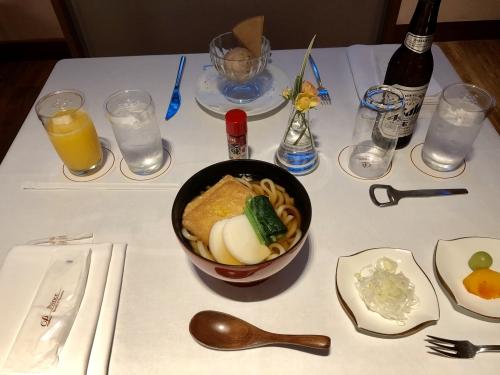 ザプリンスパークタワー東京の軽食